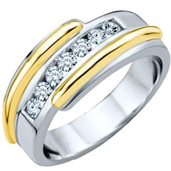 مدل حلقه های ظریف و نگین دار مردانه