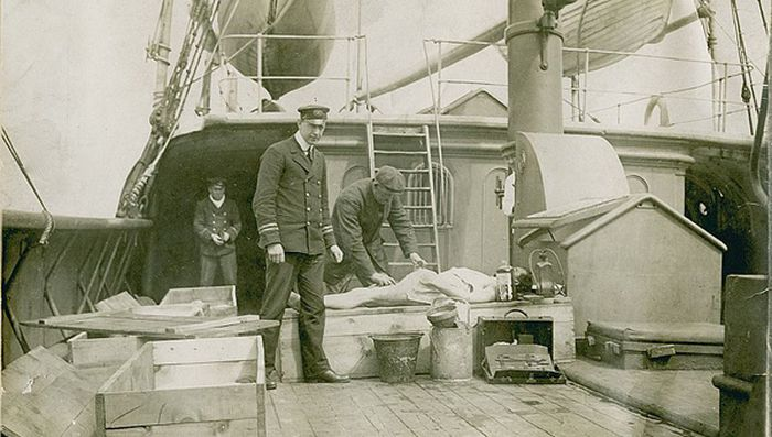 عکسهای دیدنی و تاریخی کمیاب از کشتی تایتانیک