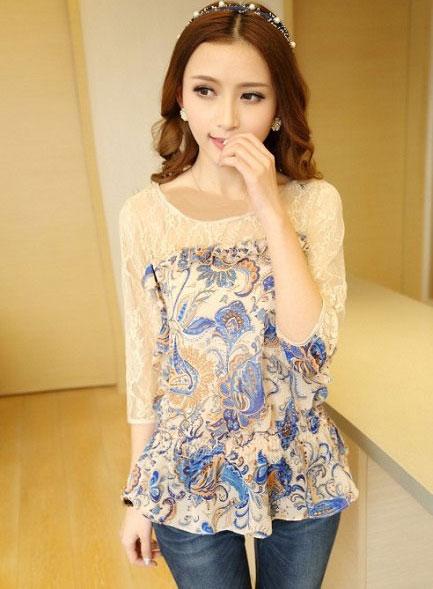 مدل های بلوز دخترانه به سبک کره جنوبی
