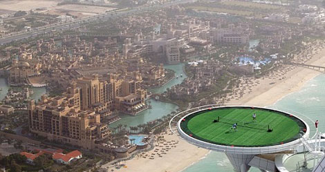 هزینه جشن عروسی در برج العرب دبی چقدر است؟