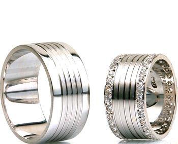 جدیدترین مدل ست های حلقه طلا سفید