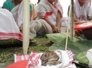اقدام جالب خانم های هندی در فصل گرما