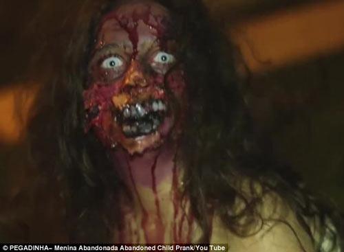 عکس ترسناک دختر