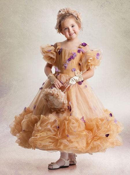 مدل لباس مجلسی مخصوص دختر بچه ها
