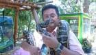 ماساژ جالب و ترسناک با مارهای بزرگ (عکس)