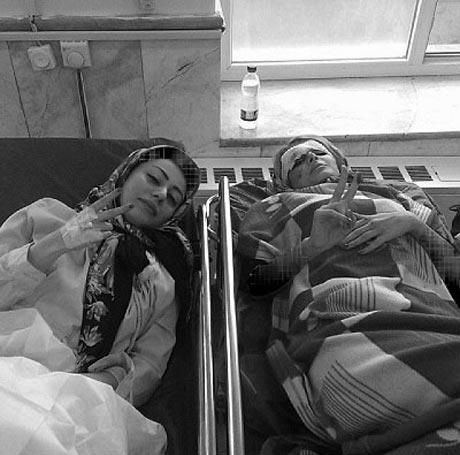 اقدام خطرناک این دو دختر تهرانی در ماشین +عکس