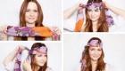 جدیدترین روش بستن روسری – آموزش تصویری