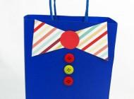 آموزش درست کردن کیف مخصوص کادو برای پدر