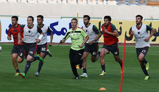 عکسهای جدید تمرین تیم ملی فوتبال ایران