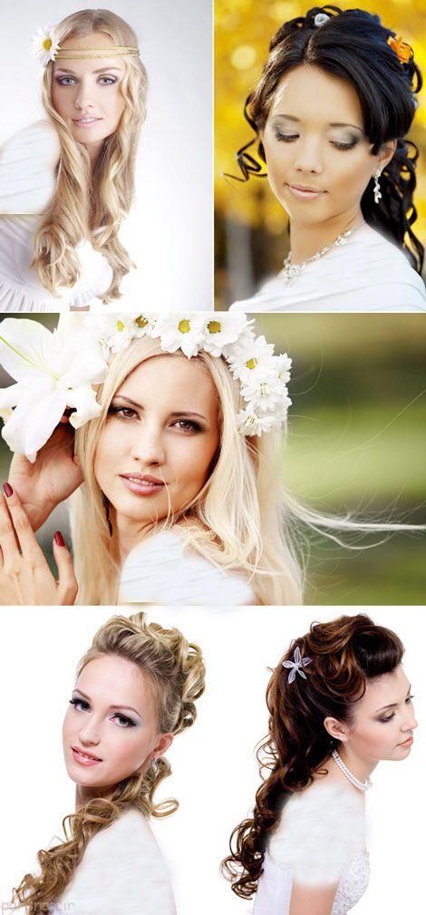 عکس گالری مدل شینیون مو عروس و آرایش عروس