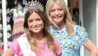 انتخاب جالب مادر و دختر به عنوان ملکه زیبایی (عکس)