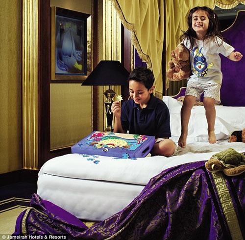 نخستین هتل ۷ ستاره و گرانترین هتل در جهان +عکس