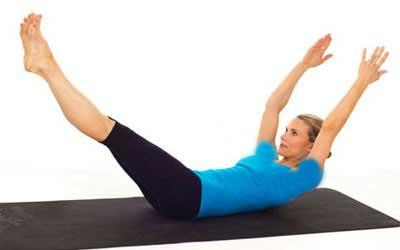تقویت عضلات و تناسب اندام با حرکات پیلاتس