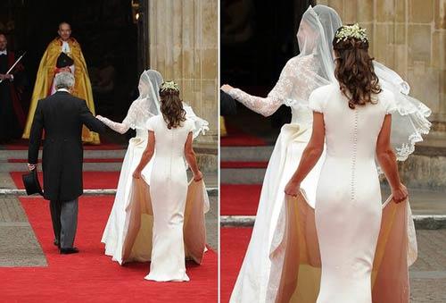 باسن تقلبی خواهر عروس در جشن شاهزاده +عکس