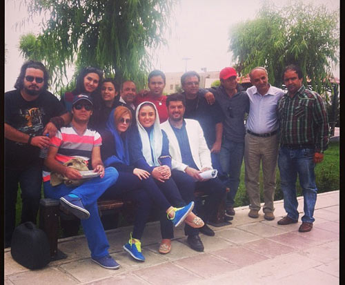 عکس های جالب نرگس محمدی و سام درخشانی