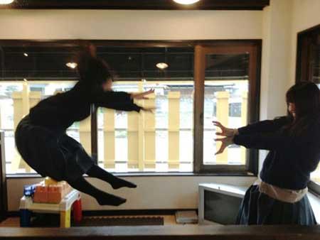 عکس های جالب از نیروی شگفت انگیز نوجوانان ژاپنی