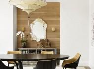 مدل دکوراسیون مدرن با دیوار های چوبی +عکس