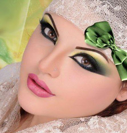 مدل آرایش خلیجی عروس – سری سوم