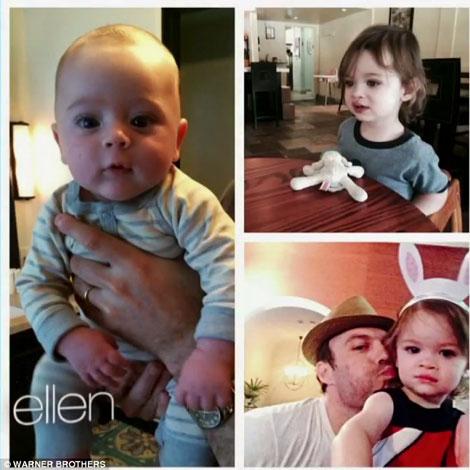 مگان فاکس بازیگر زیبای هالیوود و نوزادش جدیدش
