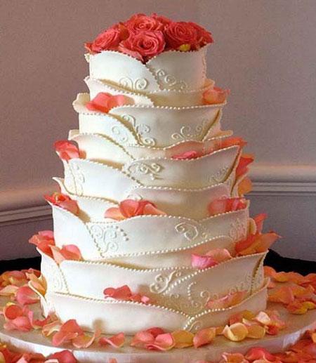 جدیدترین مدل کیک عروسی - سری پنجم