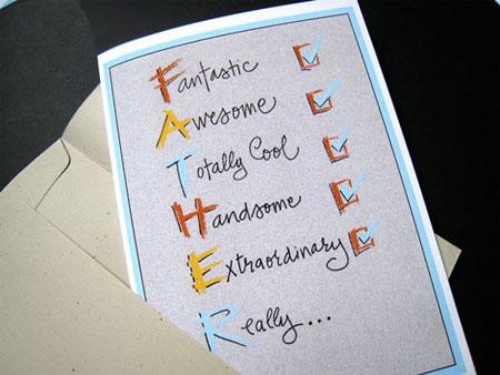 کارت پستال برای روز پدر - سری دوم