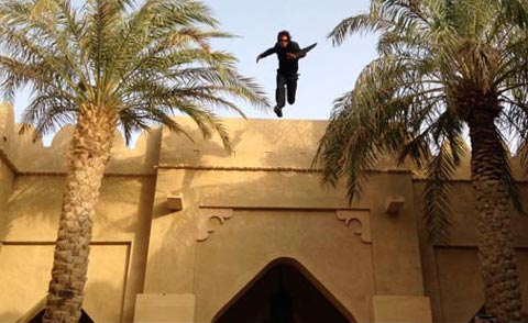 بدلکاران معروف ایرانی در یک فیلم هندی (عکس)
