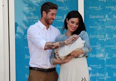 بچه سرخیو راموس معروف ترین نوزاد کشور اسپانیا شد +عکس
