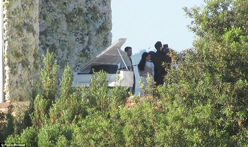 عکسهای مراسم عروسی کیم کارداشیان و کانیه وست