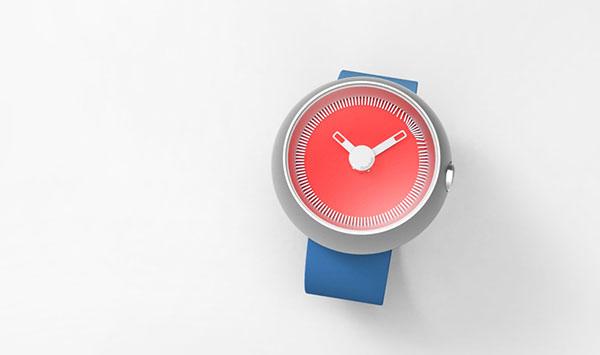 طراحی ساعت مچی مغناطیسی +عکس