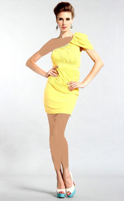 زیباترین مدل لباس مجلسی 2014