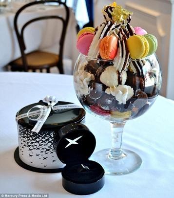 بستنی هزار دلاری