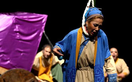 نقش جالب آنا نعمتی در یک تئاتر +عکس