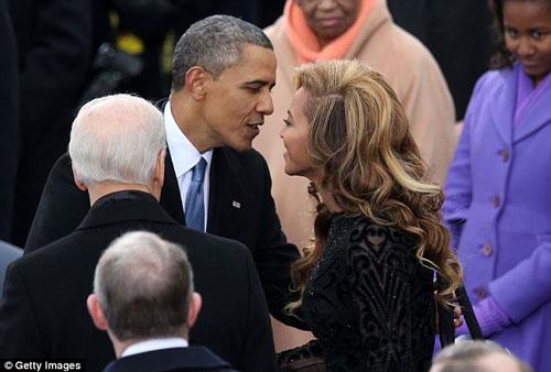 افشای رابطه نامشروع اوباما با خواننده مشهور بیانسه