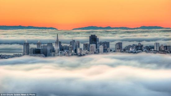 عکسهایی از شهر مه در سانفرانسیسکو