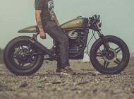 موتور سیکلت زیبای هوندا CX500 +عکس