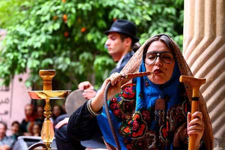 دختران داش مشتی در شهر شیراز +عکس