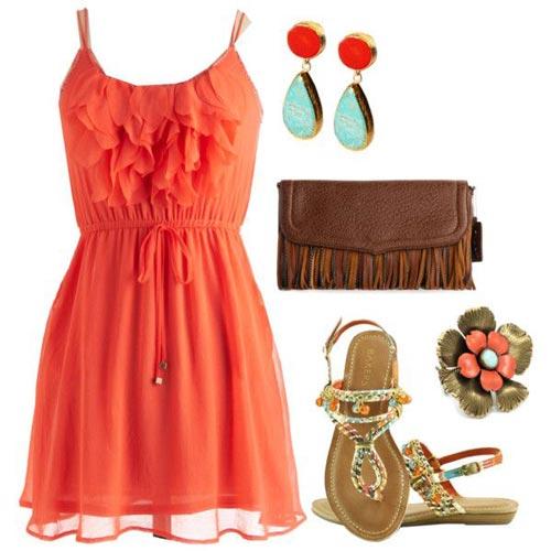ست لباس تابستانی زنانه