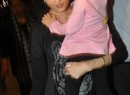 آیشواریا رای و دخترش قبل از جشنواره فیلم کن 2014