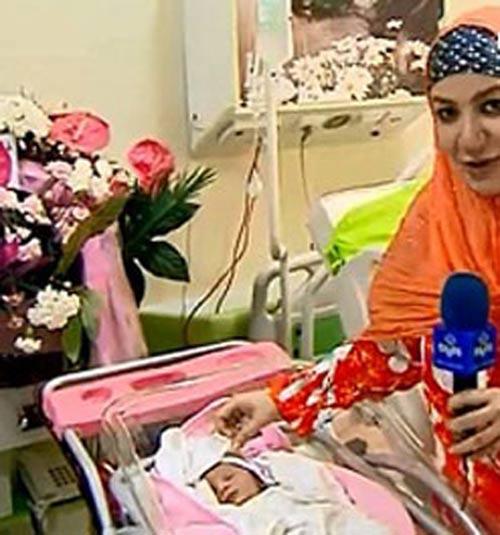 بازیگران ایرانی که سال گذشته مادر شدند +عکس