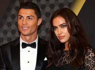 عکس برهنه رونالدو در کنار نامزد سوپر مدلش ایرینا شایک