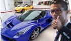 جدیدترین اتومبیل کریس رونالدو + عکس