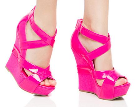 مدل کفش پاشنه بلند مجلسی زنانه و دخترانه 2014