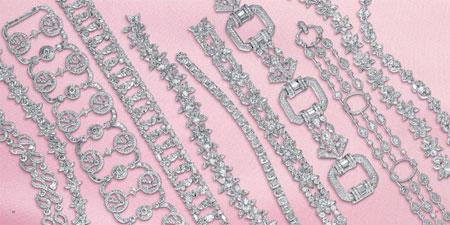 کلکسیون جواهرات و الماس های بسیار زیبا