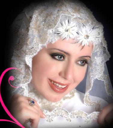 مدل کلاه برای عروس های محجبه