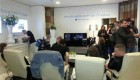 تلاش برای شکستن رکورد تماشای تلويزيون (عکس)