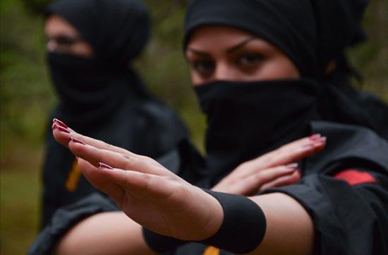 عکس های جدید زنان نینجا کار ایرانی - سری سوم