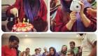 سورپرایز کردن خانم هنگامه قاضیانی بازیگر ایرانی