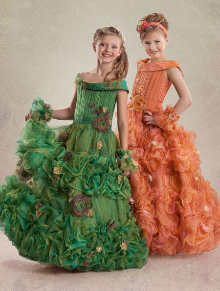 مدل لباس مجلسی مخصوص دختر بچه ها خیلی شیک