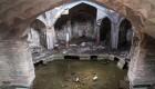 تصاویری از حمام تاریخی در کرمان در بین زباله ها