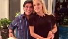 دیگو مارادونا خواستار بازداشت نامزدش است +عکس